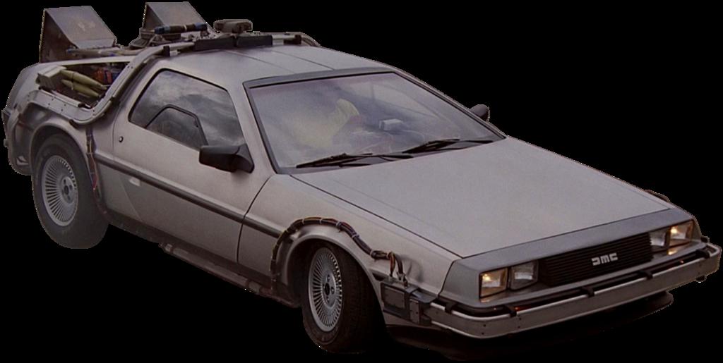 Back To The Future clipart delorean The the on DeLorean Future