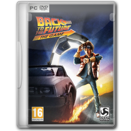 Back To The Future clipart dvd cover Cyber to Jeno Iconset Future