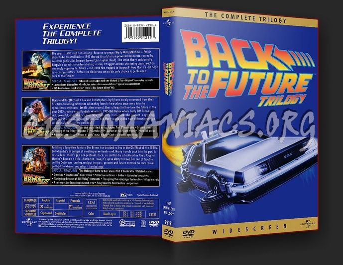 Back To The Future clipart dvd cover Pinterest container to Mini about