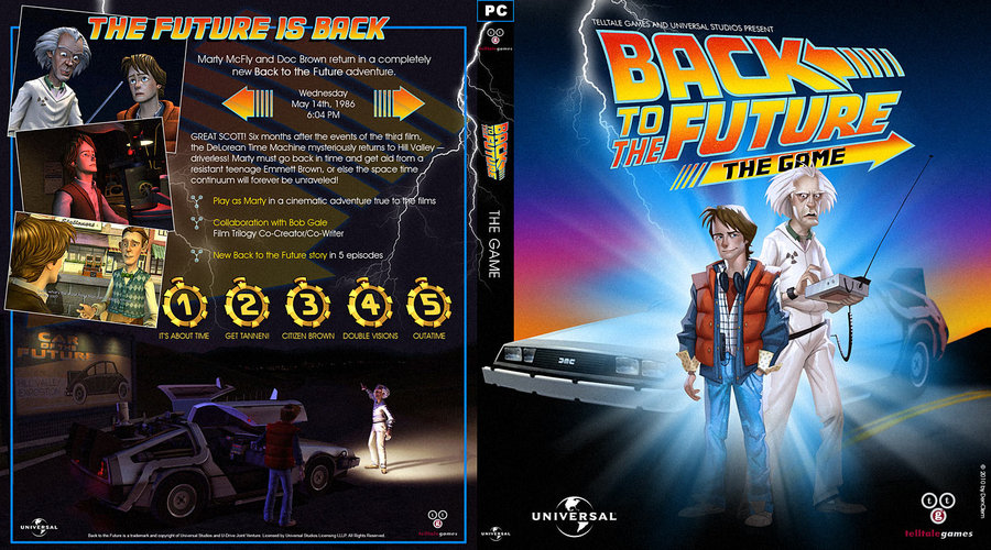 Back To The Future clipart dvd cover 15 Back DeviantArt The the
