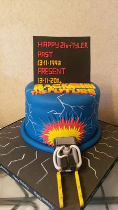 Back To The Future clipart hoover Cake Party the future (BTTF