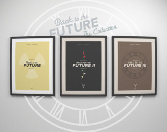 Back To The Future clipart logo Future Minimalist Etsy to Conner