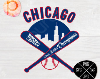 Back To The Future clipart logo Are Chicago the SVG*Back 2