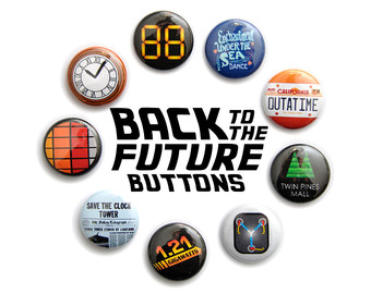 Back To The Future clipart logo The to Set Button the