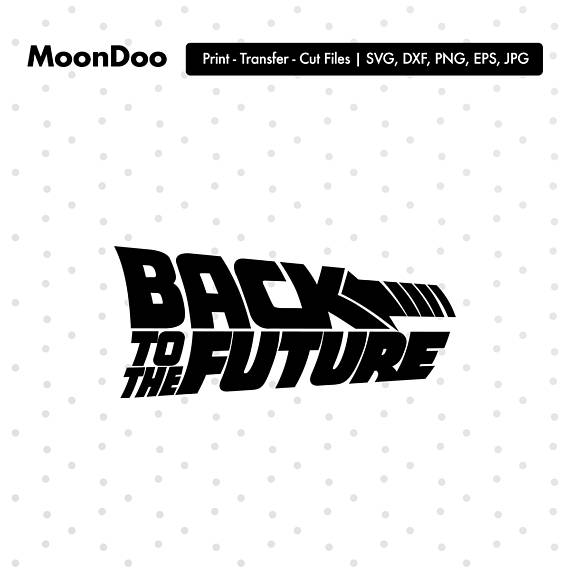 Back To The Future clipart logo Silhouette Back The Back Cricut