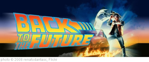 Back To The Future clipart movie poster 2008 'Back the the to