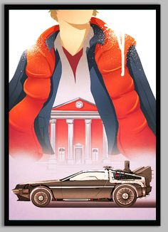 Back To The Future clipart movie poster The o'jays For Up McFly!