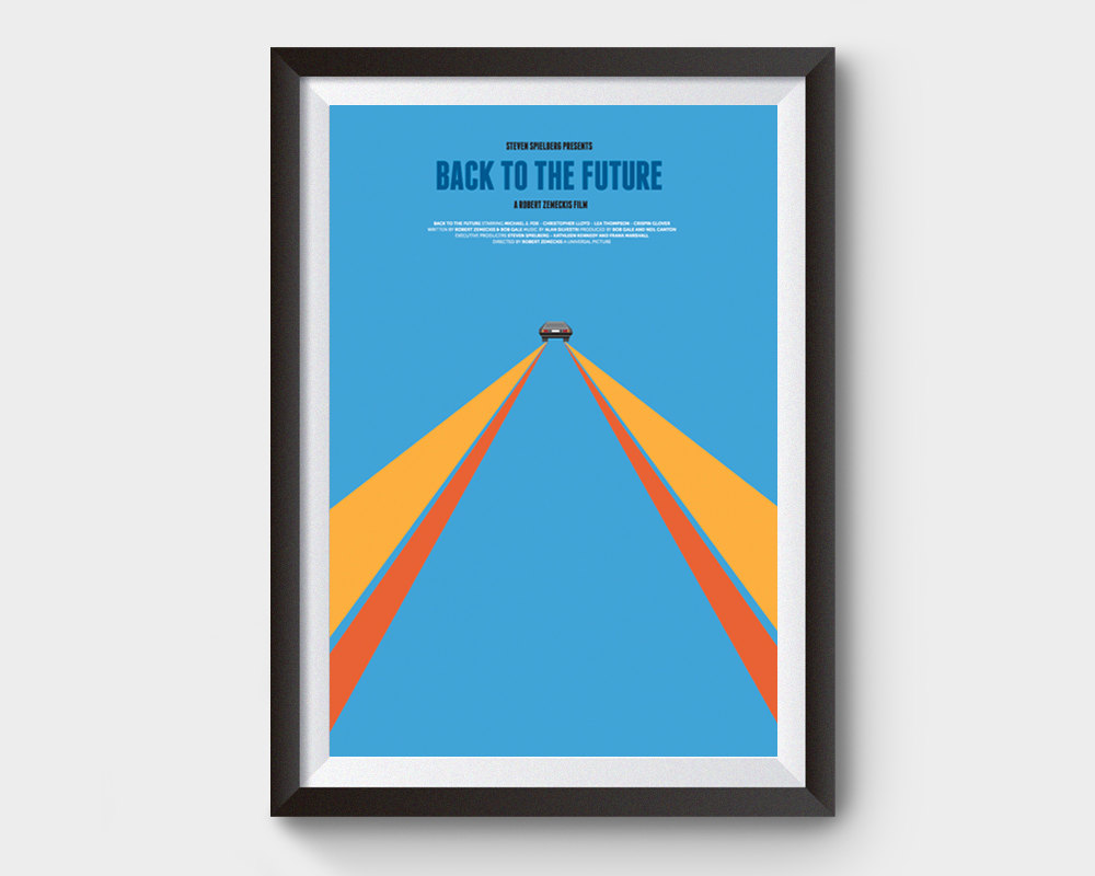 Back To The Future clipart movie poster Movie Back 88 the to