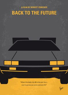 Back To The Future clipart movie poster Minimal No183 Record Back My