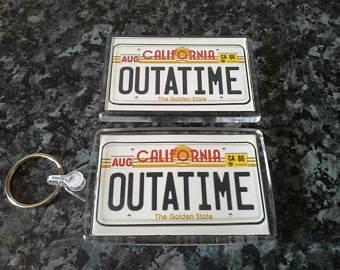 Back To The Future clipart outatime Outatime Outatime Future Magnet Set