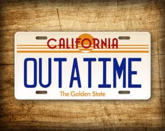 Back To The Future clipart outatime To OUTATIME Auto Future 6x12