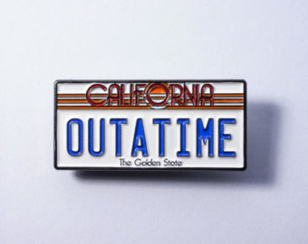 Back To The Future clipart outatime Etsy License Back To the