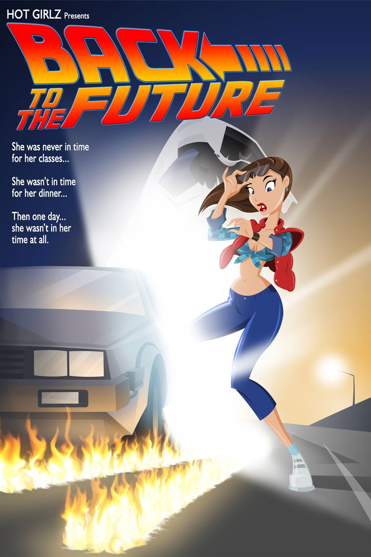 Back To The Future clipart past present future The Future❤ back ❤ Pinterest