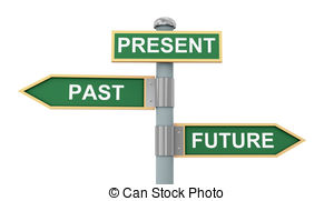 Back To The Future clipart past present future Past Clipart  and vector