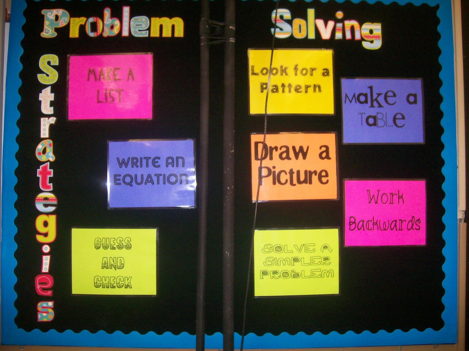 Back To The Future clipart problem solving skill Board Strategies Problem Bulletin Problem