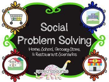 Back To The Future clipart social problem  Problem School Solving Work