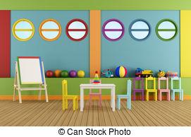 Empty  Stock Classroom Classroom