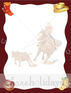 Background clipart cowboy Background Backgrounds Birthday Cowboy Clipart