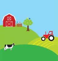 Background clipart farm Vectors stock Background Clipart Farm