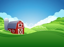 Vectors stock Background Clipart Farm