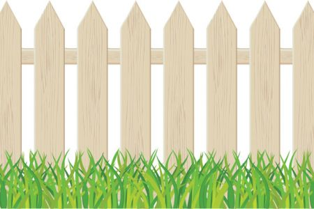Background clipart fence Picket Clipart clip Art Cartoon