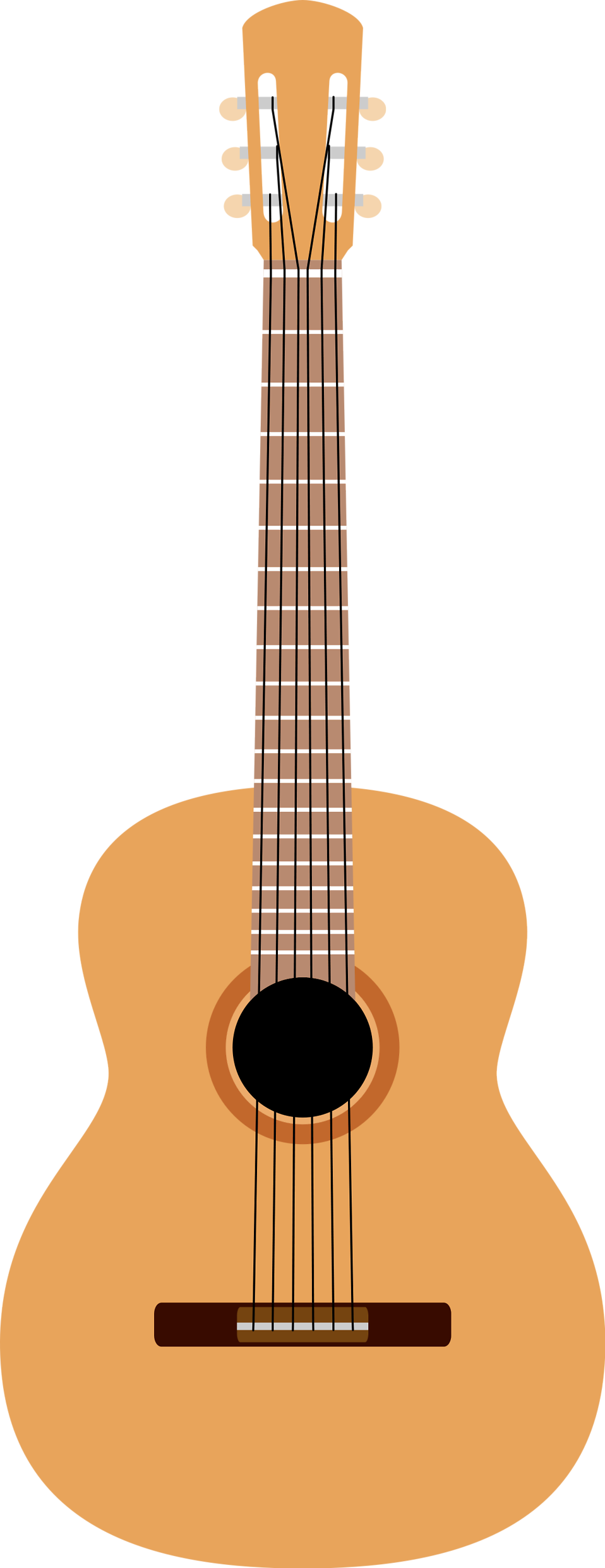 Background clipart guitar #11