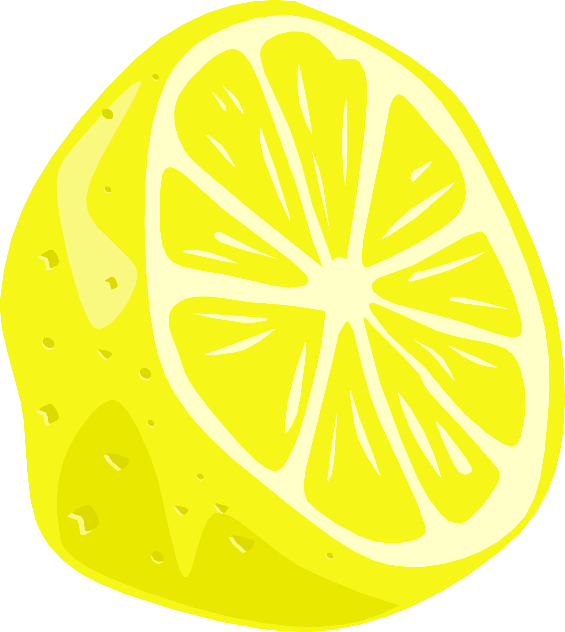Lemon clipart face Images Clipartwork (4129) — Lemon