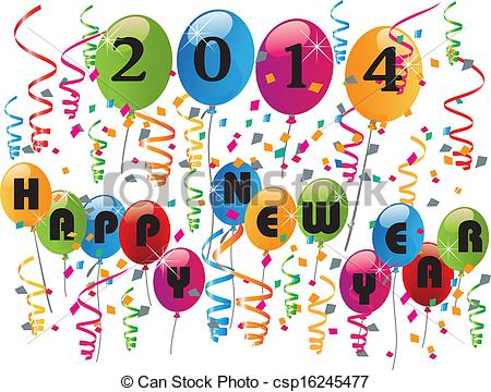 Background clipart new year New year 2014 background Illustration