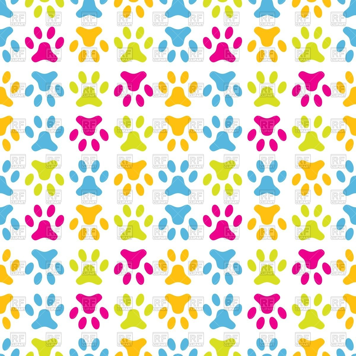 Paw clipart animal backgrounds Background clipart Paw paw Clipart