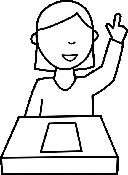 Background clipart student Clip Clker com Student clip
