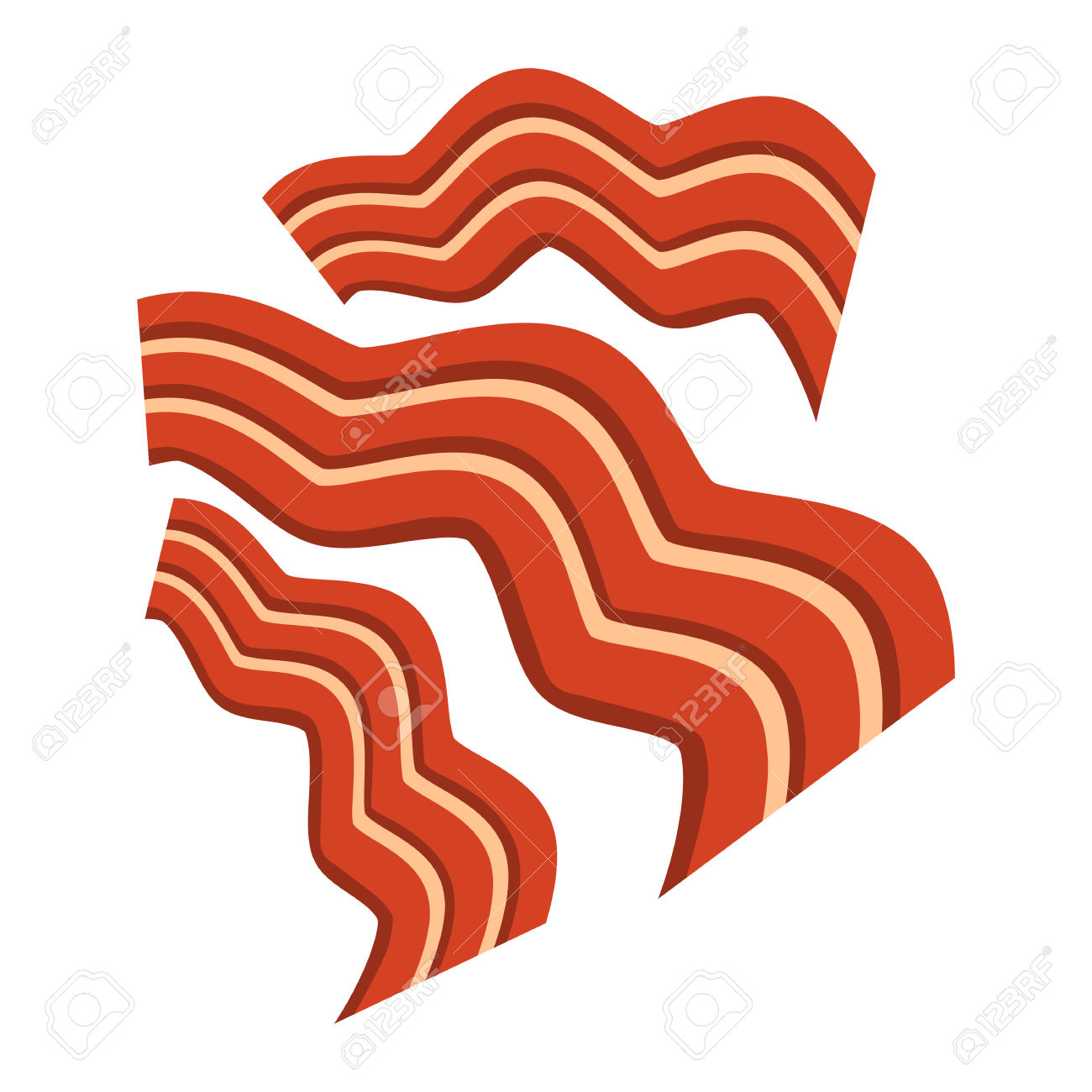 Bacon clipart Stock Royalty #1901 12462 And