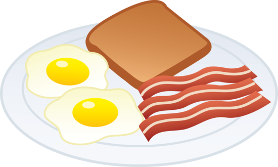 Plate clipart breakfast plate #9