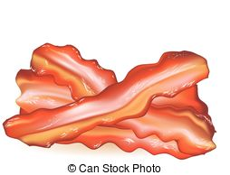 Bacon clipart Background Clipart on Bacon vector
