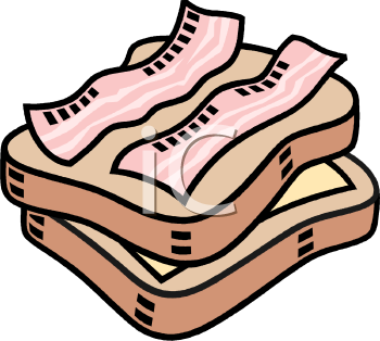 Sandwich clipart food festival Image sandwich Clipart bacon com