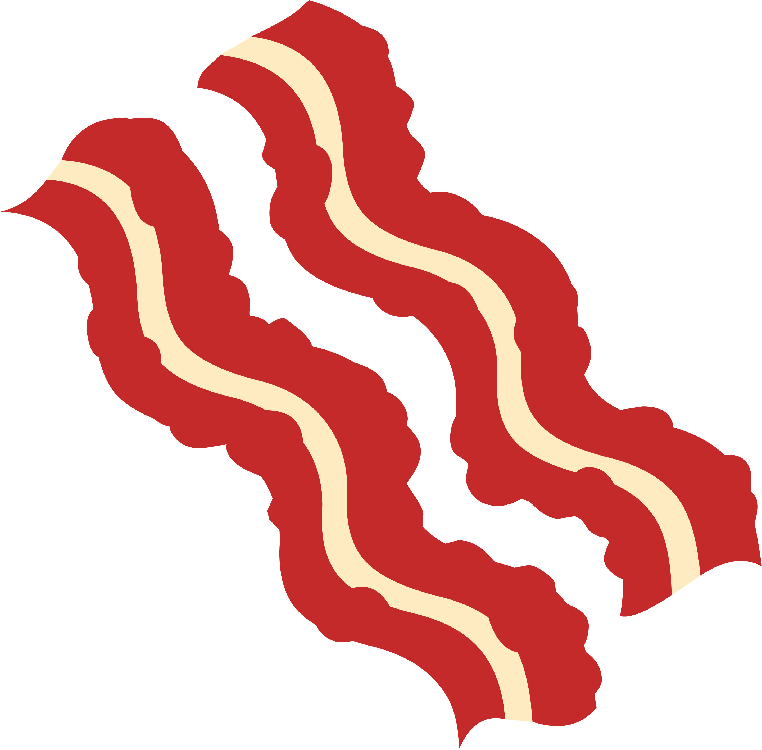 Bacon clipart animated  art Bacon Food DownloadClipart
