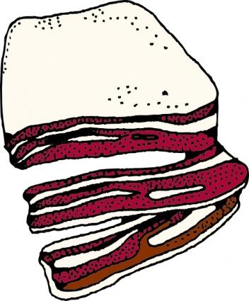 Bacon clipart bacon sandwich Sandwich Clip Download Clipart Bacon