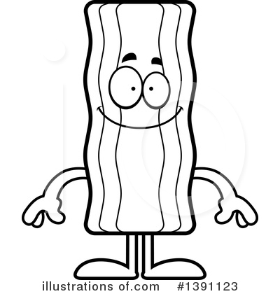 Bacon clipart black and white Royalty Bacon Cory Stock #1391123