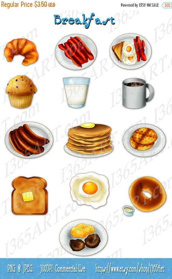Bacon clipart breakfast item Breakfast Clipart OFF clip scrapbooking