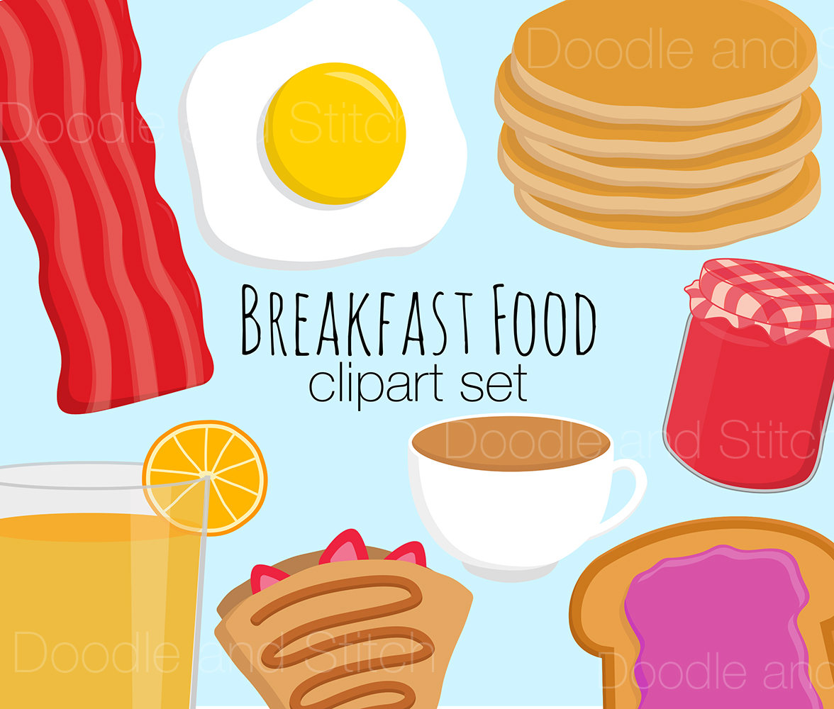 Bacon clipart breakfast item Food Breakfast Egg Pictures Clipart