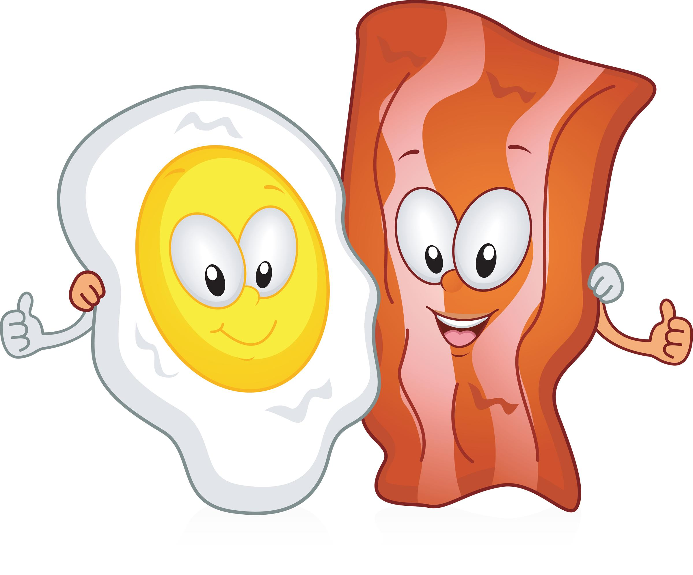 Bacon clipart cartoon Images Clipart Egg Unique And