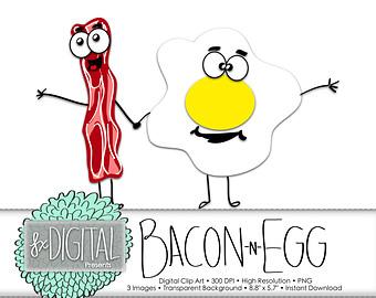 Bacon clipart drawn Bacon art clip and Bacon