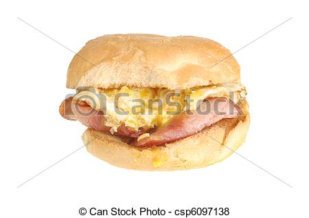 Bacon clipart egg roll Roll and egg roll fried