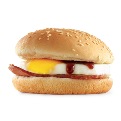 Burger clipart drawn Egg Bacon Oporto Roll &