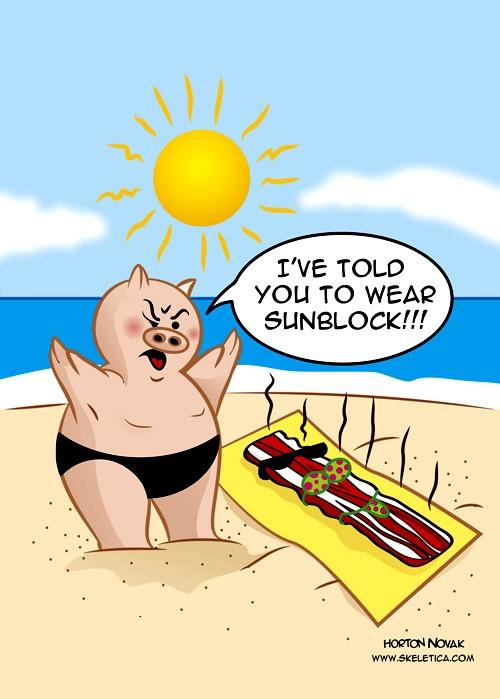 Bacon clipart funny cartoon Cartoon 2011 Magazine edition Botox