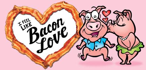 Bacon clipart heart Idaho Bacon Love feel Bacon