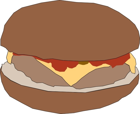 Hamburger clipart face (8 Free art use free