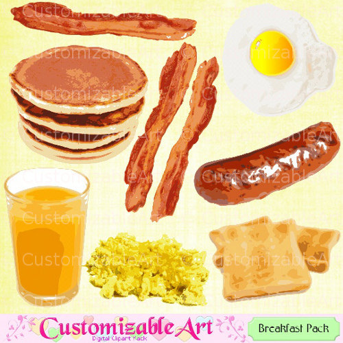 Juice clipart pineapple juice Scrapbook Bacon Juice Breakfast Egg