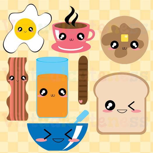 Bread clipart french pastry  SHOP Chibi SHOP Art