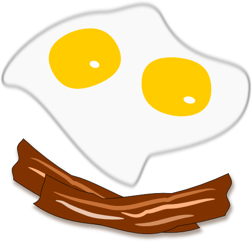 Fried Egg clipart itlog By and Sunny up side