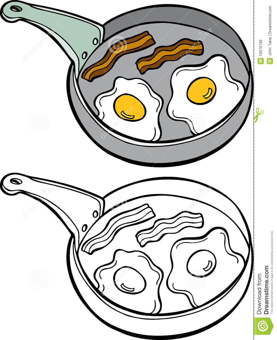 Fried Egg clipart free breakfast 20clipart Panda Clipart Free bacon%20clipart